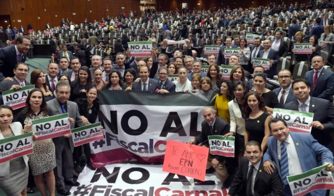 No Habrá #FiscalCarnal