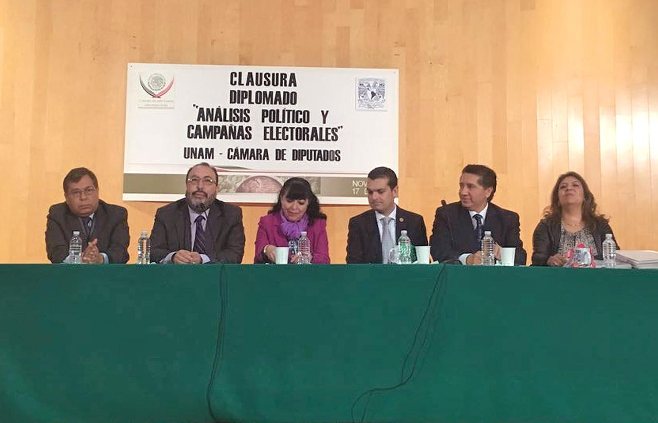 """17 Nov – Clausura Diplomado """"Análisis Político Y Campañas Electorales"""""""