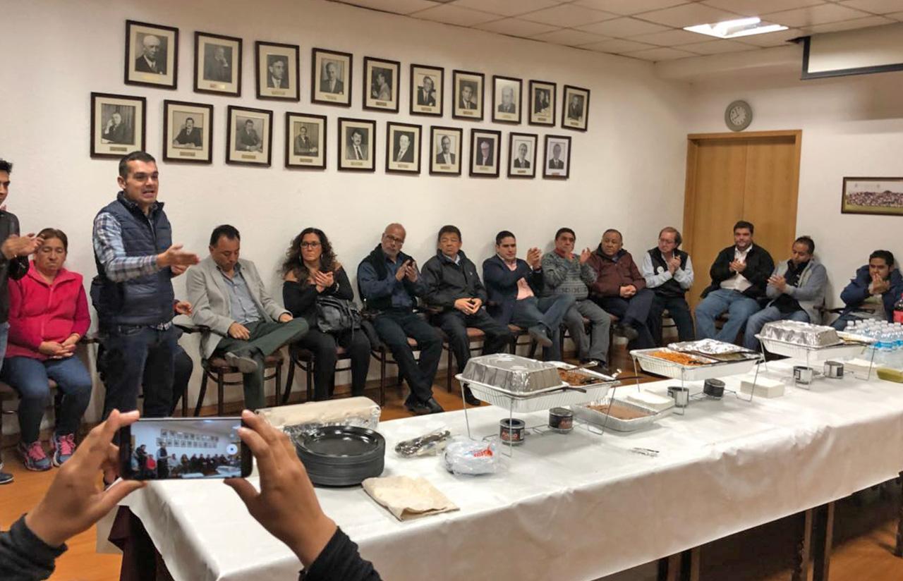 11 Enero – Reunión Con Amigos De Miguel Hidalgo