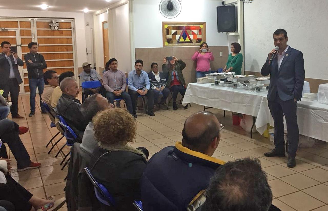 22 Feb – Reunión Con Vecinos De Miguel Hidalgo