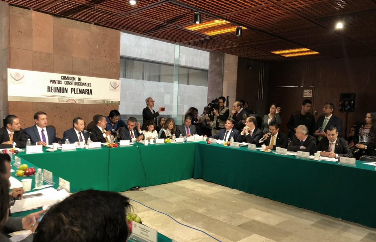 19 Abr – Reunión Plenaria De La Comisión De Puntos Constitucionales