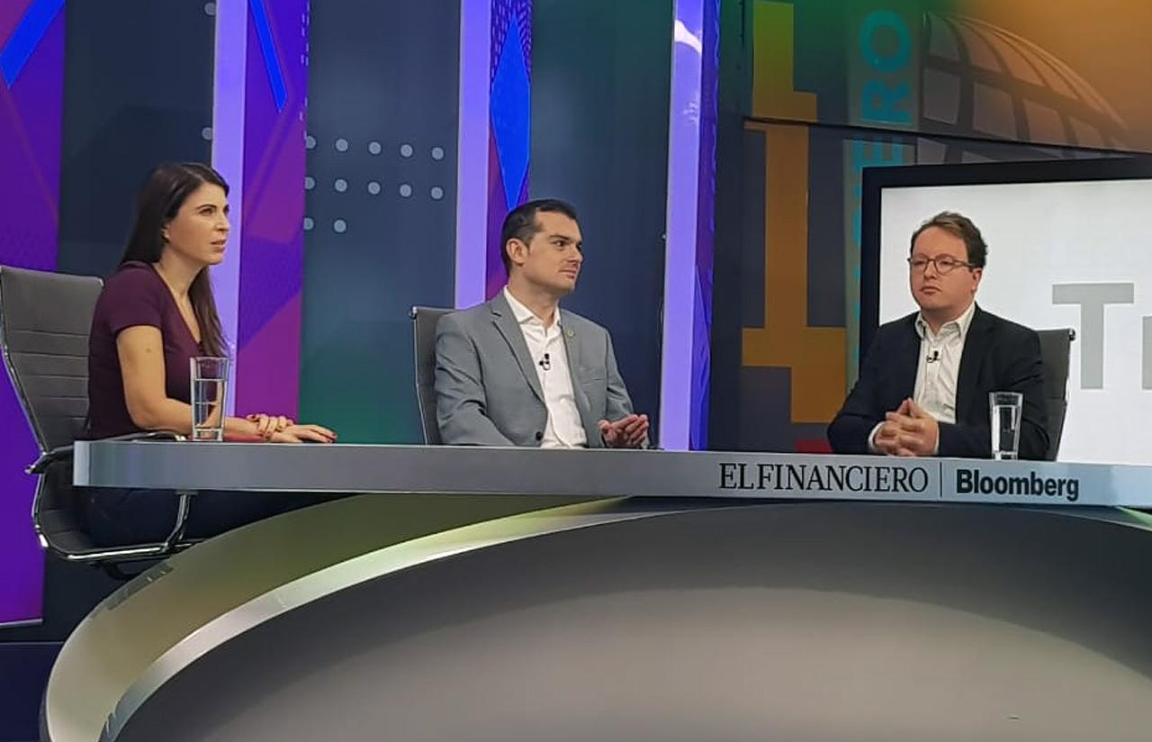 """8 Jun – El Financiero Bloomberg, En Programa """"Urna Tras Otra"""""""