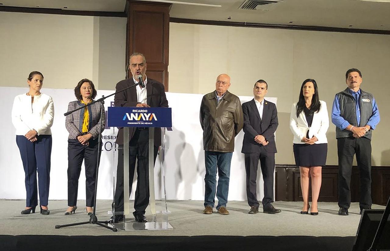 18 Jun – Rueda De Prensa Campaña Ricardo Anaya – PAN