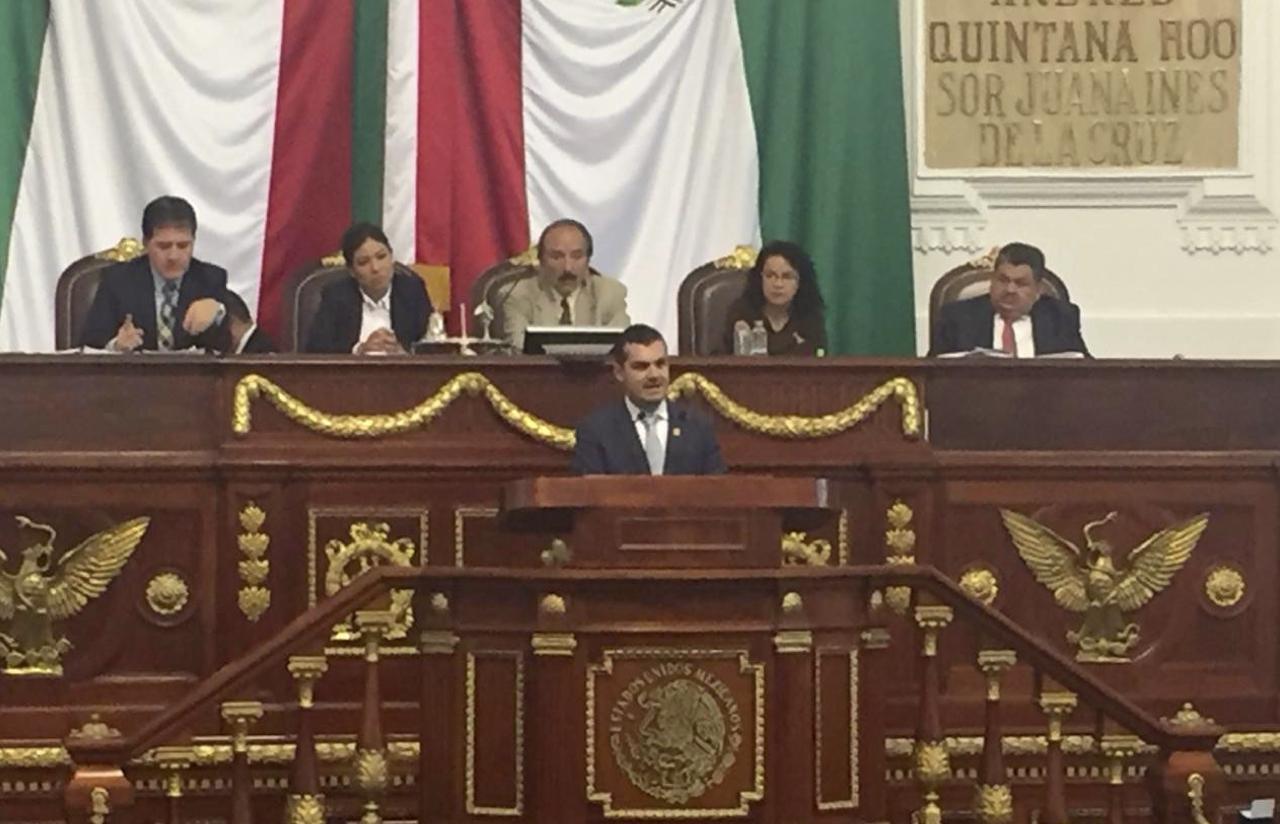 17 Sep – Primera Intervención En Tribuna En El Congreso De La CDMX