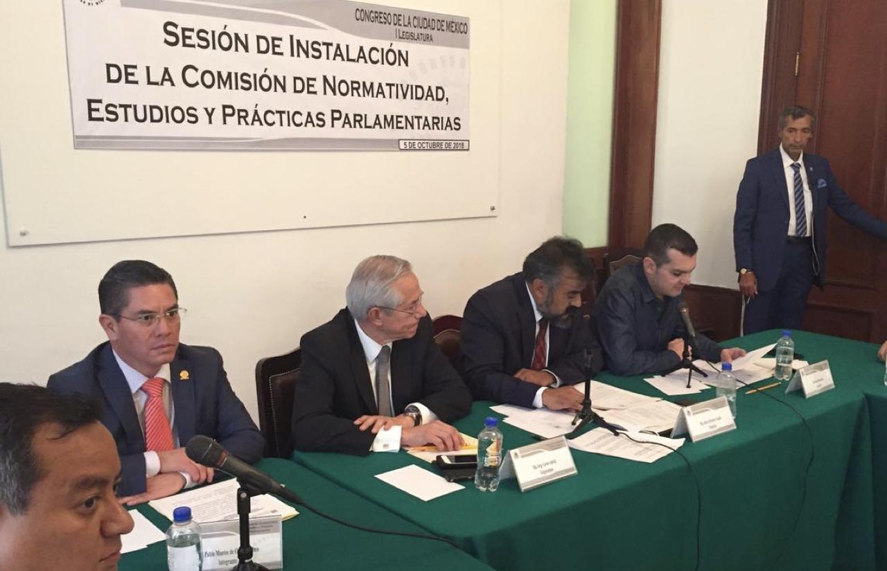 5 Oct – Sesión De Instalación De La Comisión De Normatividad, Estudios Y Prácticas Parlamentarias