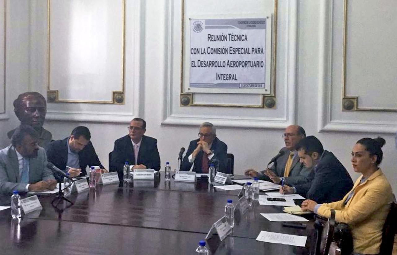 19 Oct – Reunión Técnica Con La Comisión Especial PDA Del NAICM